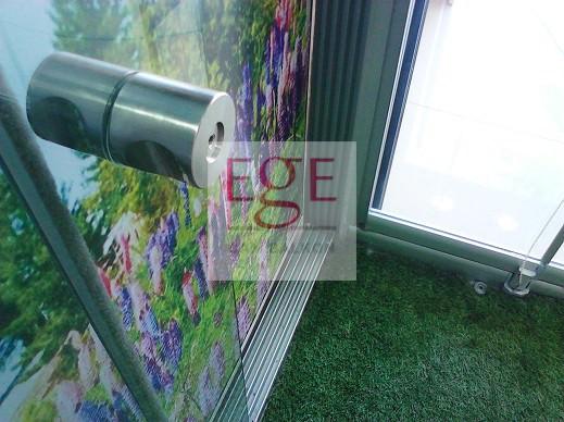 eşikli sürme cam balkon