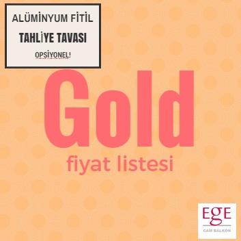 gold seri cam balkon fiyatları