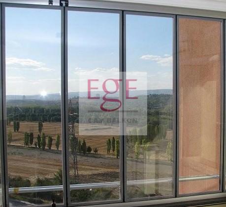 ısı camlı cam balkon modeli