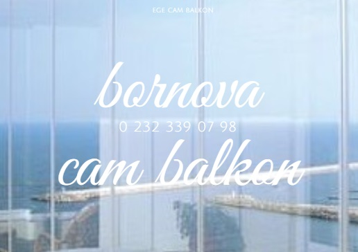 bornova cam balkon