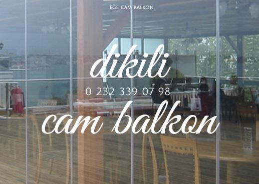 dikili cam balkon