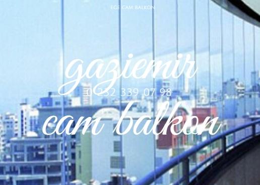 gaziemir cam balkon