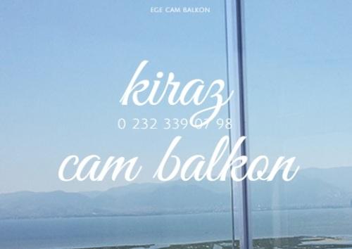 kiraz cam balkon