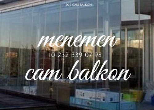 menemen cam balkon