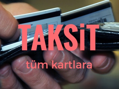 kredi kartına taksit