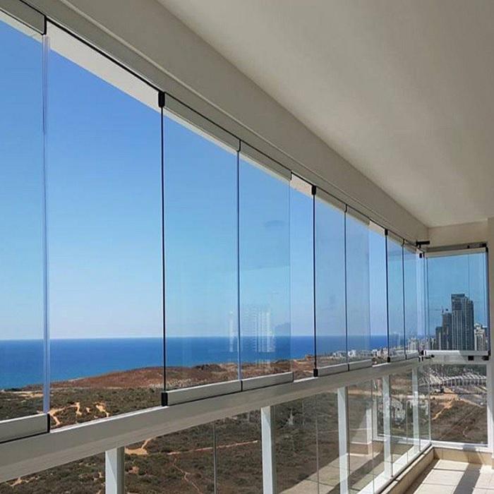 tiara 8 mm katlanır cam balkon