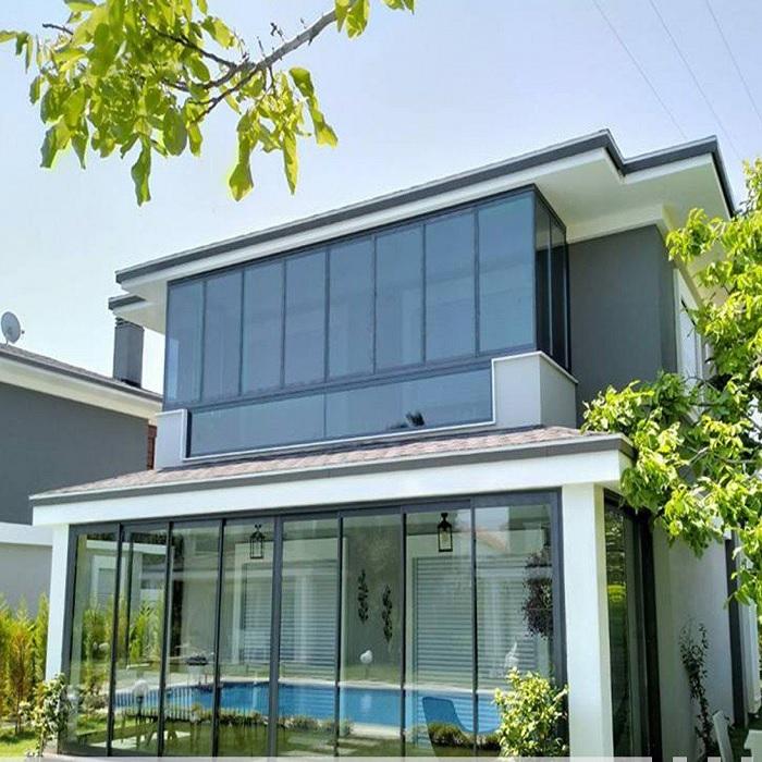 tiara twinmax ısıcamlı cam balkon