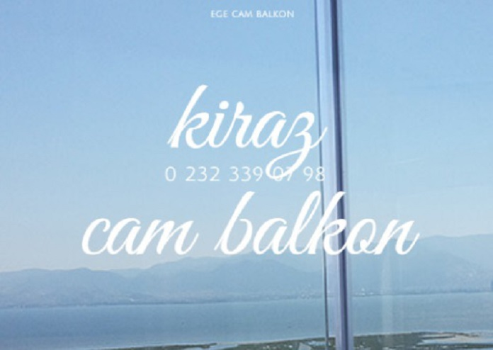 cam balkon kiraz