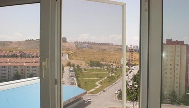 cam balkon için sineklik